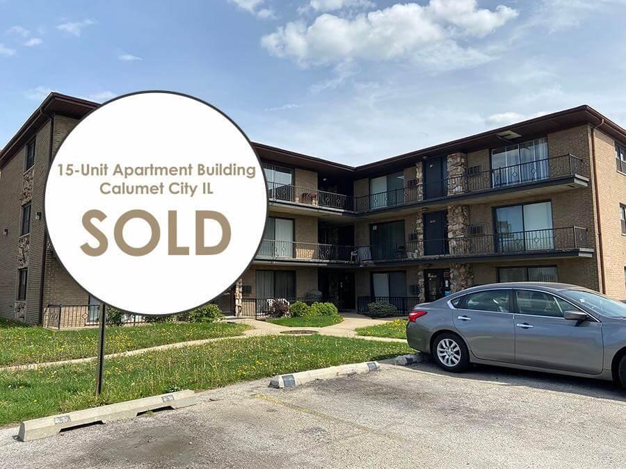 15-Unit Apartment Building SOLD!