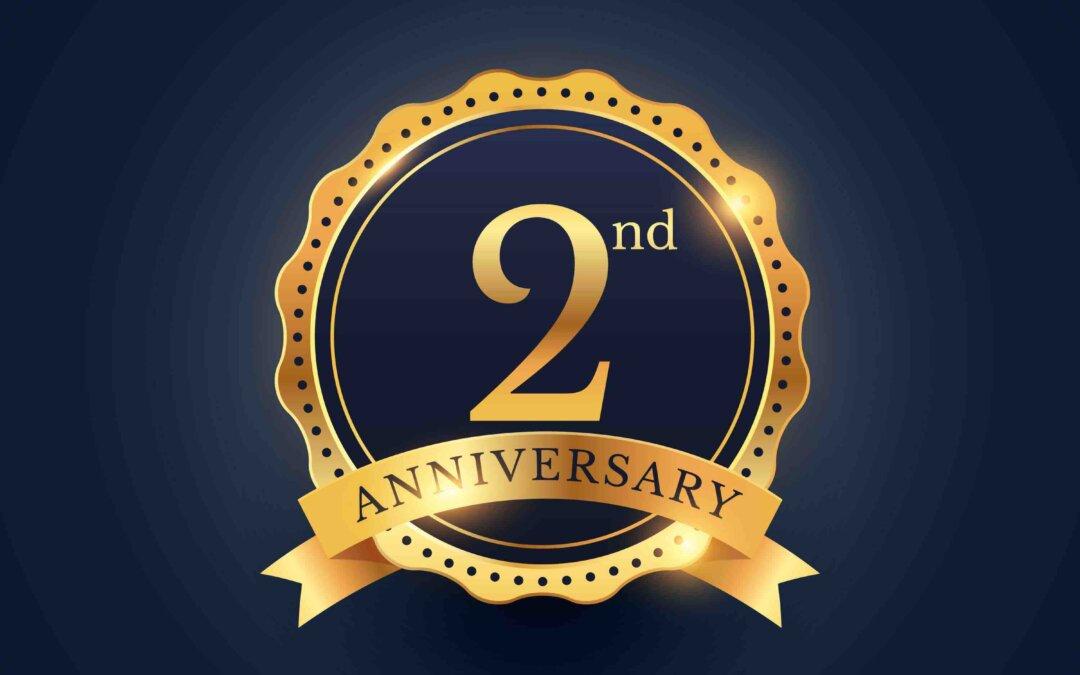 2nd Year Anniversary Celebrated